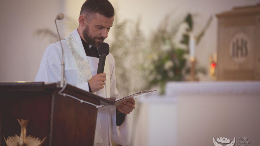 Zaproszenie na uroczyste liturgiczne wprowadzenie nowego Proboszcza: 10 września (niedziela) godz. 17:00