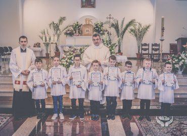 Uroczyste ślubowanie nowych ministrantów: 18 czerwca 2017 r. [ZDJĘCIA]