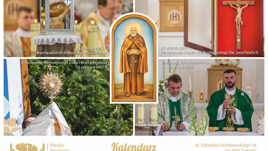 Kalendarz parafialny 2018