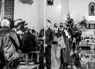 Jasełka 2017 w wykonaniu uczniów kl. IIIa Katolickiej Szkoły Podstawowej im. Św. Ojca Pio w Zamościu: 15 stycznia 2017 r. [ZDJĘCIA]