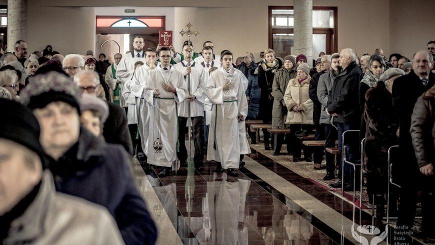 Msza święta w intencji ś.p. ks. kanonika Jana Borowskiego: 15 stycznia 2017 r. [ZDJĘCIA]