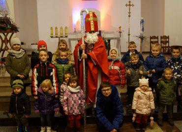 Mikołaj w kościele: 6 grudnia 2017 r. [ZDJĘCIA]
