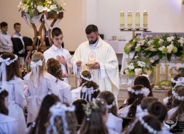Rocznica przyjęcia I Komunii Świętej: 27 maja 2018 r. [ZDJĘCIA]