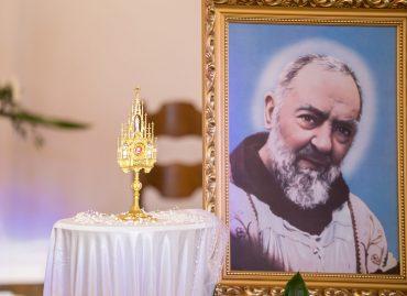 Wprowadzenie relikwii Świętego Ojca Pio: 20 września 2018 r. [ZDJĘCIA]